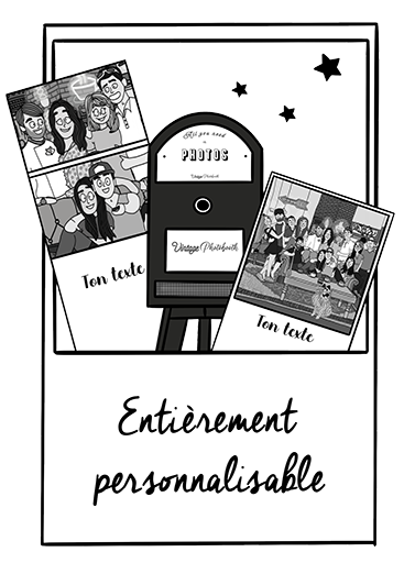 photobooth personnalisable